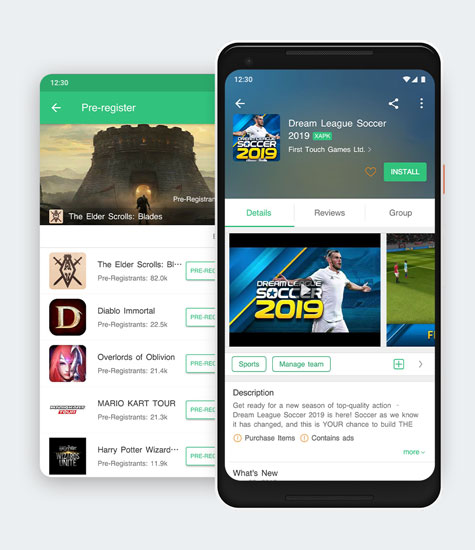 APKPure APK Downloader for Android Wear, Phones, Tablets, TV
